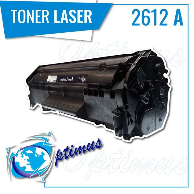 Foto de Toner Optimus remanufacturado para HP Q2612A