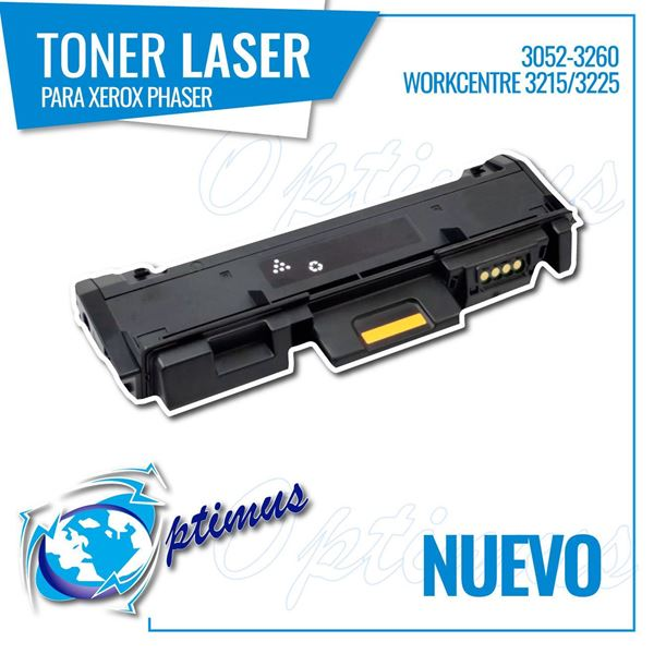 Foto de Toner Optimus remanufacturado para  XEROX PHASER 3052-3260 WORKCENTRE 3215/3225