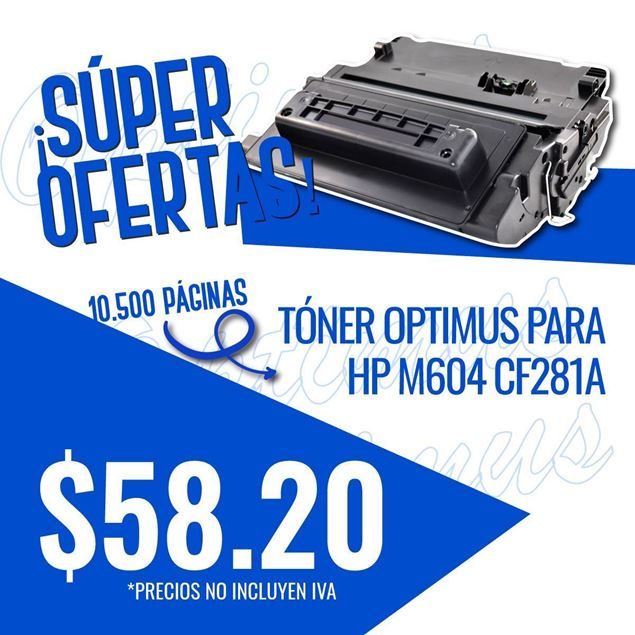 Foto de Toner Optimus remanufacturado para  HP M604