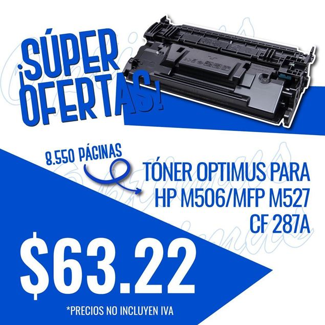 Foto de Toner Optimus remanufacturado para  HP M506